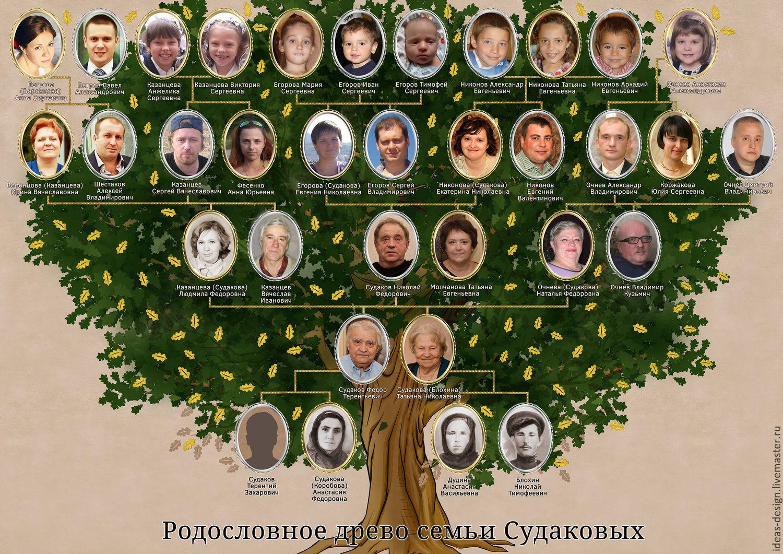Как можно оформить фамильное (семейное) дерево своими 29