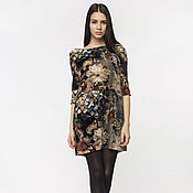 Одежда handmade. Livemaster - original item Exclusive dress made of viscose velvet (art. 2265). Handmade.