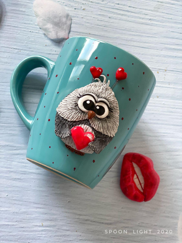 Кружка милый совёнок, Кружки и чашки, Орехово-Зуево,  Фото №1
