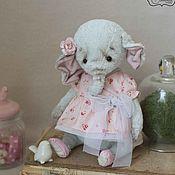 Куклы и игрушки ручной работы. Ярмарка Мастеров - ручная работа Слоник Элли. Handmade.