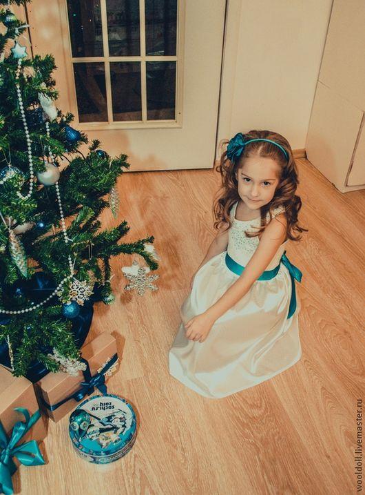 """Одежда для девочек, ручной работы. Ярмарка Мастеров - ручная работа. Купить Платье для девочки """" Нежное утро"""". Handmade."""
