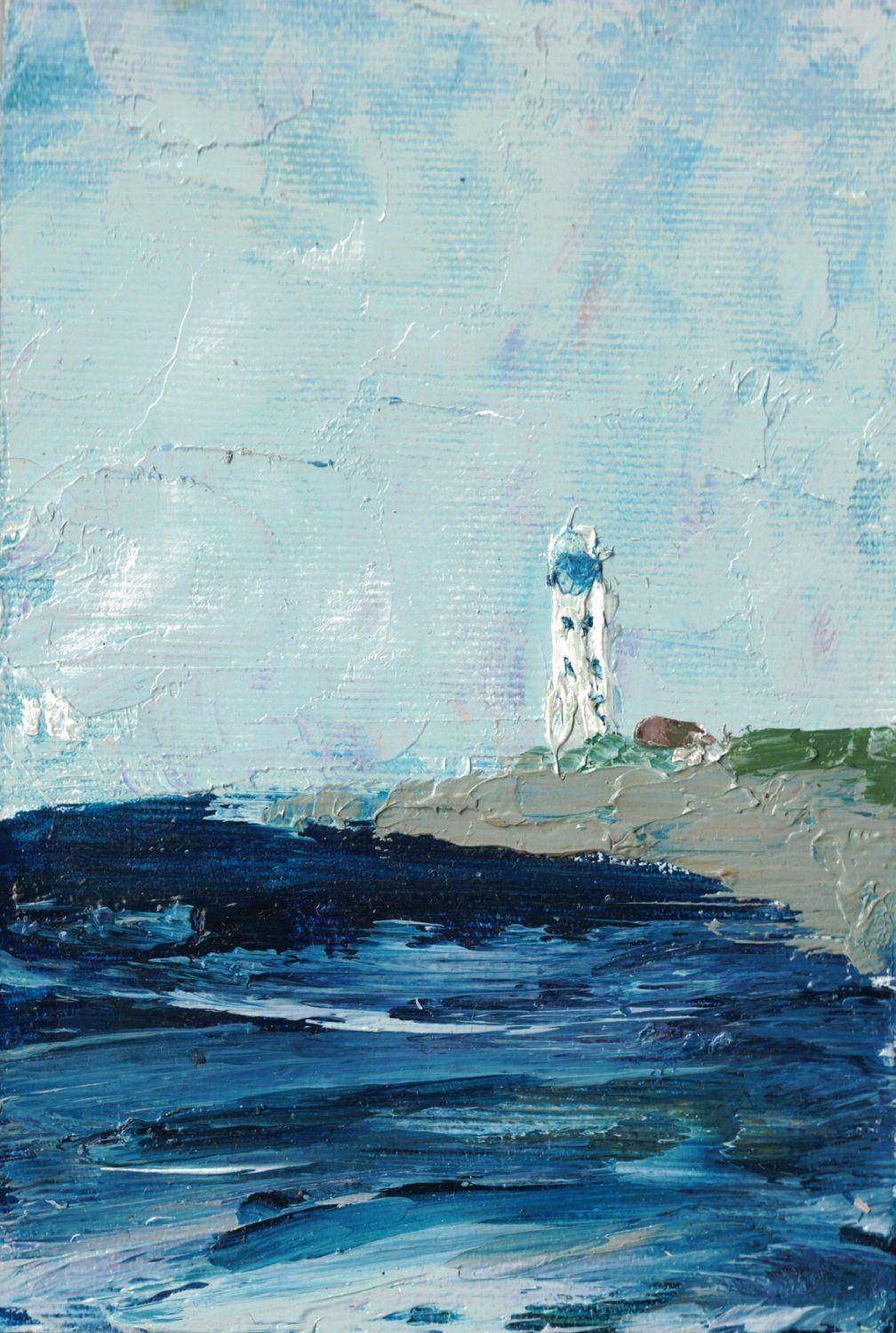 Картина. Севастопольский маяк, Картины, Москва,  Фото №1