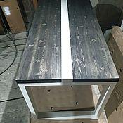 Для дома и интерьера handmade. Livemaster - original item The loft dining table. Handmade.