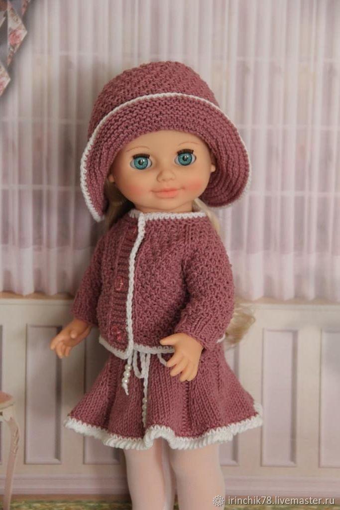 одежда вязаная спицами для кукол купить в интернет магазине на