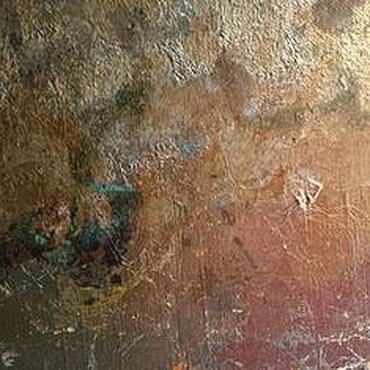 Diseño y publicidad manualidades. Livemaster - hecho a mano El efecto de la roya en la pared teksturnymi de yeso y potalyu. Handmade.