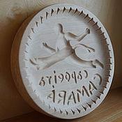 Для дома и интерьера handmade. Livemaster - original item Gingerbread boards of wood Capoeira. Handmade.