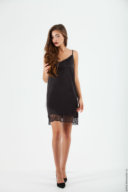 Черное платье доставка