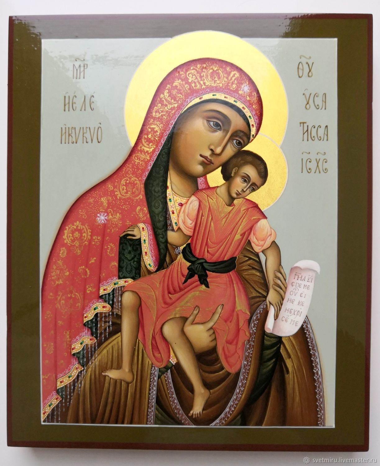 The Icon Of The Virgin Of Kykkos, The Most Merciful, Icons, St. Petersburg,  Фото №1