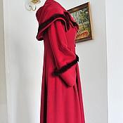Одежда ручной работы. Ярмарка Мастеров - ручная работа Пальто из  английского кашемира. Handmade.