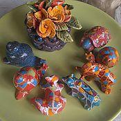 Fun handmade. Livemaster - original item Ceramics. small plastic.