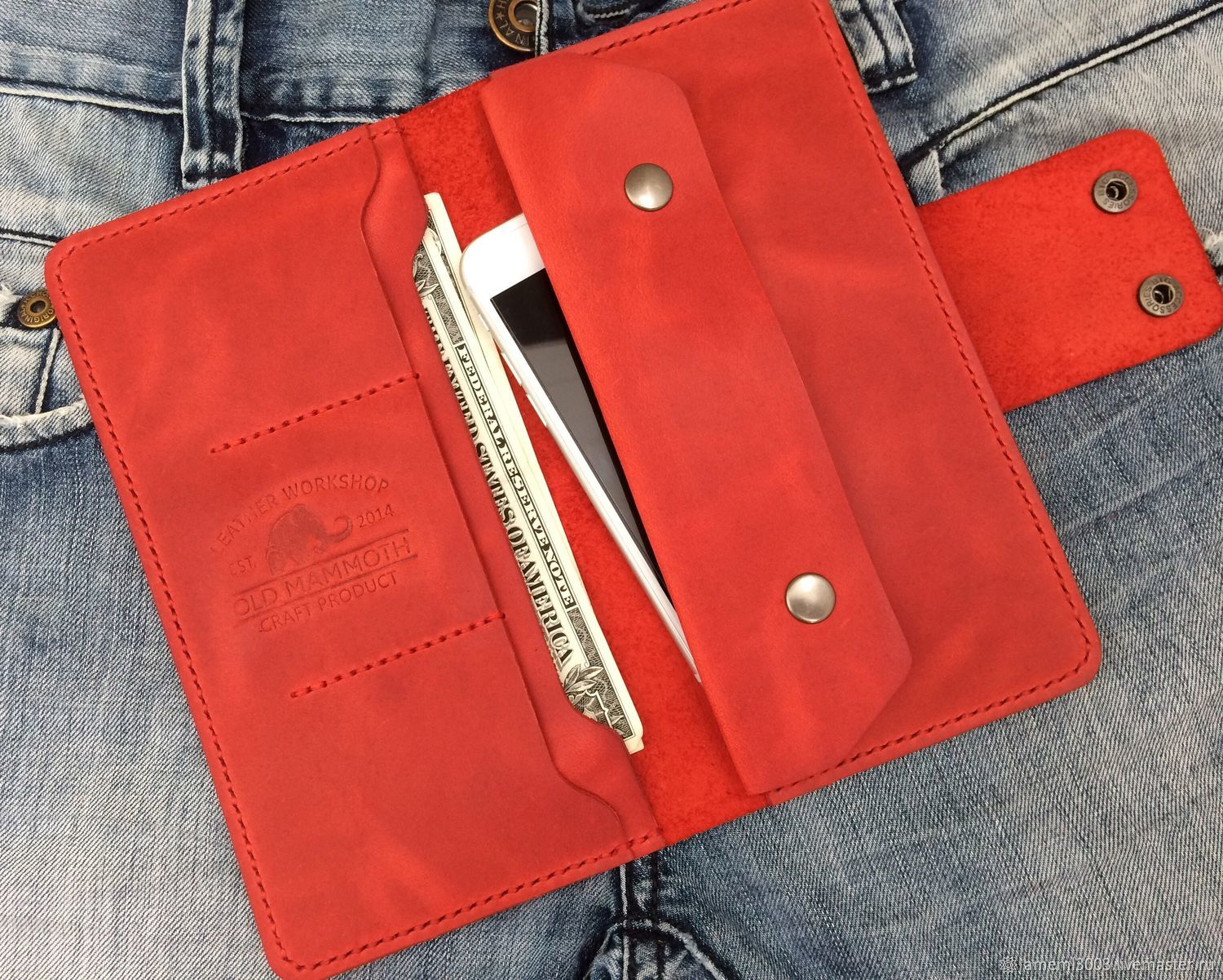 Wallets & Business Card Holders handmade. Livemaster - handmade. Buy Wallet-travel.Travel, wallet as a gift