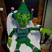 Куклы и игрушки ручной работы. Ярмарка Мастеров - ручная работа Инопланетянин. Планшетная кукла.. Handmade.