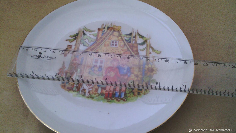 Baby plate. GDR. NadinVintazh (Nadezhda3344). My Livemaster. & Baby plate. GDR \u2013 shop online on Livemaster with shipping - ET0ZLCOM ...