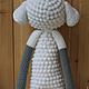 Игрушки животные, ручной работы. Кукла Лупо в костюме овечки. Кербенёва Анна. Ярмарка Мастеров. Кукла, для ребенка, акриловая пряжа