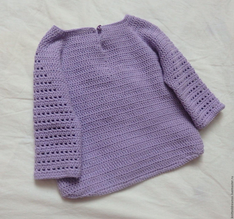 Пуловеры, свитера и джемпера крючком 44