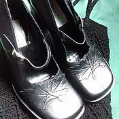 Обувь винтажная ручной работы. Ярмарка Мастеров - ручная работа Винтажные туфли. Handmade.