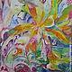 Абстракция ручной работы. Ярмарка Мастеров - ручная работа. Купить Живая музыка Чайковского. Handmade. Разноцветный, подарок на свадьбу