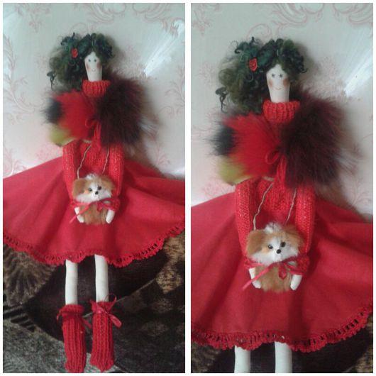 Куклы Тильды ручной работы. Ярмарка Мастеров - ручная работа. Купить Сусанна продана. Handmade. Тильда, текстильная кукла