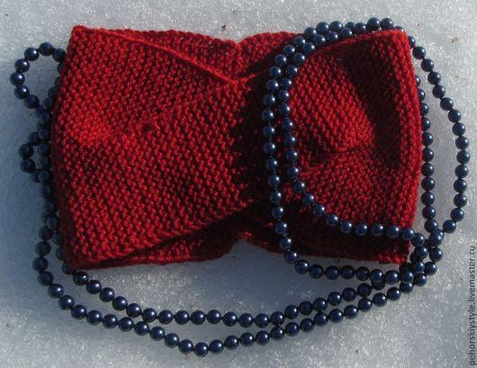 Повязки ручной работы. Ярмарка Мастеров - ручная работа. Купить Повязка вязаная. Handmade. Вязаная повязка, повязка на волосы