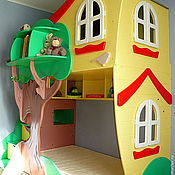 """Для дома и интерьера ручной работы. Ярмарка Мастеров - ручная работа Двухъярусная кровать """"Домик на дереве"""". Handmade."""