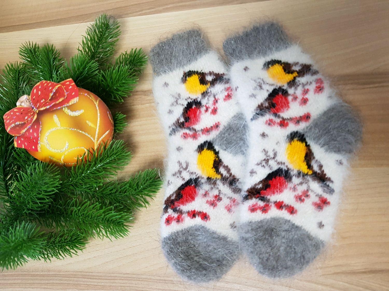 Children's knitted socks Down socks BULLFINCHES warm children's socks, Socks and tights, Volgograd,  Фото №1