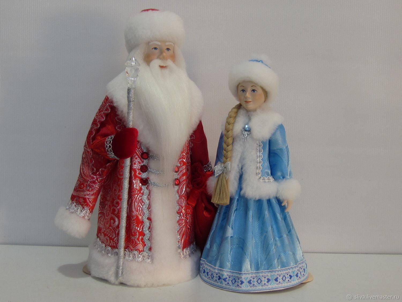 Куклы Дед Мороз и Снегурочка, Игрушки, Москва, Фото №1