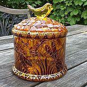 """Посуда ручной работы. Ярмарка Мастеров - ручная работа Конфетница """"Стрекозы"""". Handmade."""