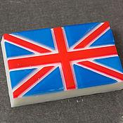 """Косметика ручной работы. Ярмарка Мастеров - ручная работа Мыло """"Британский флаг"""". Handmade."""