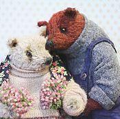 Куклы и игрушки ручной работы. Ярмарка Мастеров - ручная работа Пара  медвежья.. Handmade.