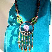 Украшения handmade. Livemaster - original item Necklace: Wild stone. Handmade.