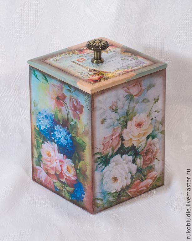 """Короб для специй """"Розовый сад"""", Банки, Краснодар, Фото №1"""