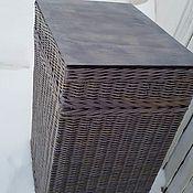 Для дома и интерьера handmade. Livemaster - original item Basket-cabinet-table. Handmade.