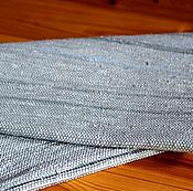 Для дома и интерьера ручной работы. Ярмарка Мастеров - ручная работа Коврик  тканый голубой. Handmade.