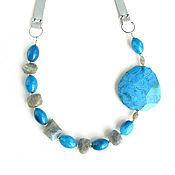 Украшения handmade. Livemaster - original item Necklace with Labrador
