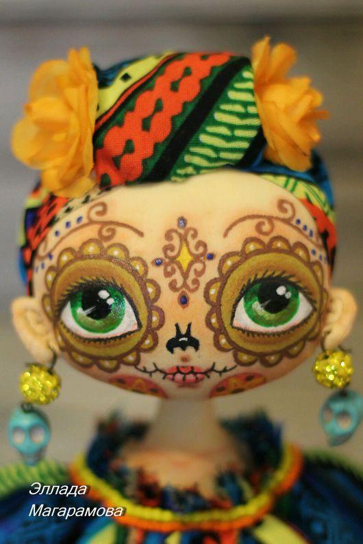 Коллекционные куклы ручной работы. Ярмарка Мастеров - ручная работа. Купить Интерьерная  текстильная кукла Эбби.. Handmade. Интерьерная кукла