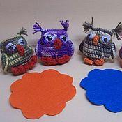 Подарки к праздникам ручной работы. Ярмарка Мастеров - ручная работа Совёнок вязаный крючком (подвеска, брелок, игрушка). Handmade.