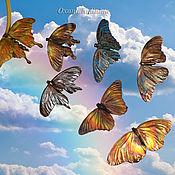 Украшения ручной работы. Ярмарка Мастеров - ручная работа Брошь Butterfly. Handmade.