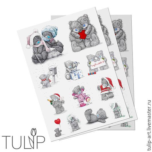 Аппликации, вставки, отделка ручной работы. Ярмарка Мастеров - ручная работа. Купить Термотрансфер сублимация переводные картинки наклейки для ткани, фетра. Handmade.