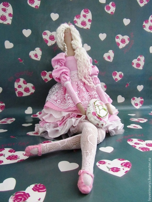 Куклы Тильды ручной работы. Ярмарка Мастеров - ручная работа. Купить Продана.интерьерная текстильная кукла Глафира. Handmade.