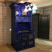 Для дома и интерьера handmade. Livemaster - original item Sapphire crystal furnace. Handmade.