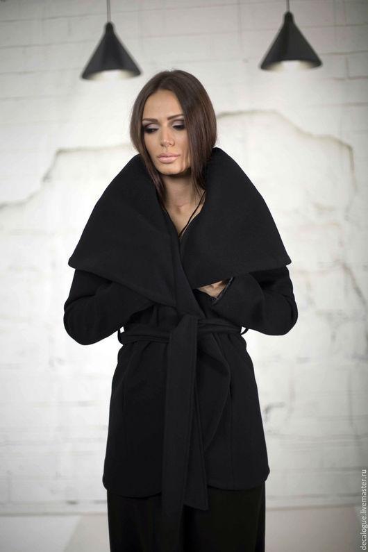 """Верхняя одежда ручной работы. Ярмарка Мастеров - ручная работа. Купить Пальто """"KIMONO"""". Handmade. Черный, верхняя одежда, красивый"""