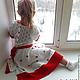 Одежда для девочек, ручной работы. платье Зимняя роза вязаное детское авторское. Евгения  Черевкова (EvgeniaManKi). Ярмарка Мастеров.