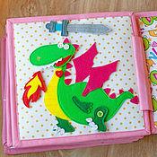 "Развивающая книжка-игрушка ""Про принцессу"""