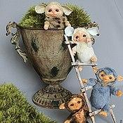Куклы и игрушки ручной работы. Ярмарка Мастеров - ручная работа Монстрята- шалуны. Handmade.