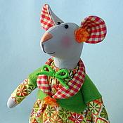 Куклы и игрушки ручной работы. Ярмарка Мастеров - ручная работа Мышка-малышка. Handmade.