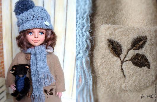 Коллекционные куклы ручной работы. Ярмарка Мастеров - ручная работа. Купить Энни,  текстильная кукла. Handmade. Текстильная кукла