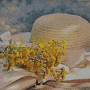 """Картины и панно ручной работы. Ярмарка Мастеров - ручная работа Вышитая картина """"Мечта о лете"""". Handmade."""