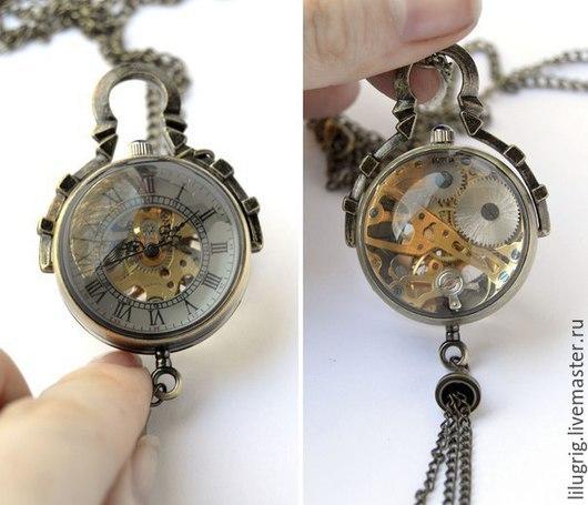 """Часы ручной работы. Ярмарка Мастеров - ручная работа. Купить Часы механические """"Сфера"""". Handmade. Часы, подарок женщине"""
