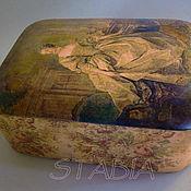 """Для дома и интерьера ручной работы. Ярмарка Мастеров - ручная работа Шкатулка """" Мадам Помпадур"""". Handmade."""