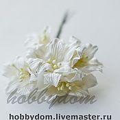 Материалы для творчества ручной работы. Ярмарка Мастеров - ручная работа цветок бумажный Лилия. Handmade.